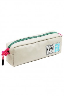 Me to We Pencil Case - Pink and Green - Pink and Green