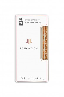 Elevated Impact Rafiki bracelet - education