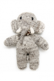 Kenana Knitters - wool - elephant (small)