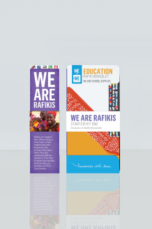 We Are Rafikis Fundraising Starter Kit