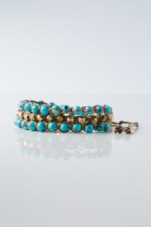 Swahili Wrap Bracelet - Turquoise - Kilifi Coast