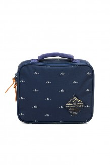 United by Blue - Meader Lunchbox - Navy/tan