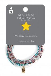 Hakuna Matata Bracelet WE Day #GenWE