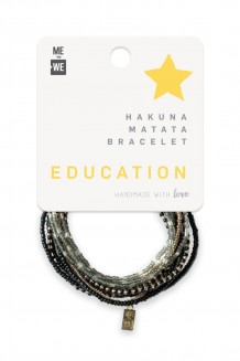 Hakuna Matata Bracelet Set - Education