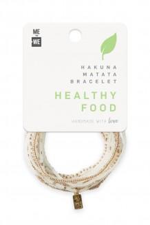Hakuna Matata Bracelet Set - Food