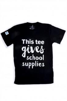 WE Give School Supplies T-Shirt