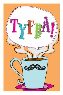 Speech Bubble - TYFBA!