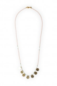 Neema necklace - blush