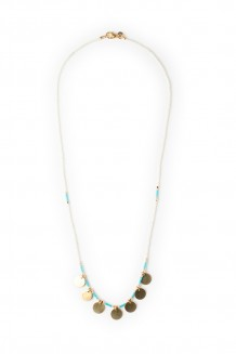 Neema necklace - seaglass
