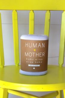 Human + Mother Baby Wrap - Peace, Love & Platinum