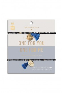 Just the Two of Us Rafiki Bracelet Set - WE believe