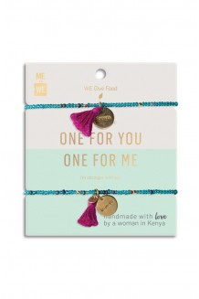Just the Two of Us Rafiki Bracelet Set - Food
