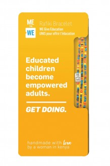 Get Doing Impact Rafiki Bracelet - Education