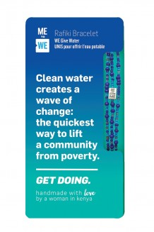 Get Doing Impact Rafiki Bracelet - Water