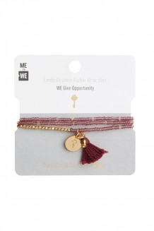 Brass paillette and tassel Rafiki - opportunity