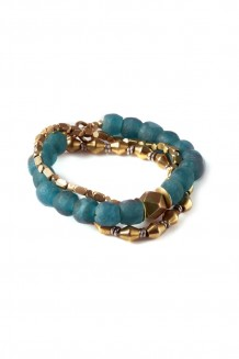 Sayari Bracelet - Sea Glass