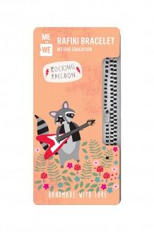 Cute Critters Rafiki Bracelet – Rocking Racoon