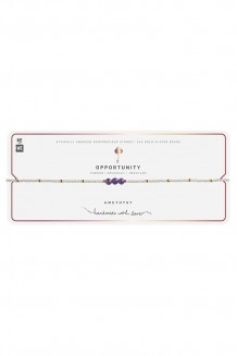 Semiprecious collection – choker – amethyst
