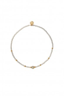 Semiprecious Collection – Single-Strand Rafiki Bracelet – Labradorite