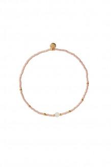 Semiprecious collection – single-strand Rafiki bracelet – rose quartz