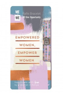 Opportunity Rafiki bracelet - empowered women