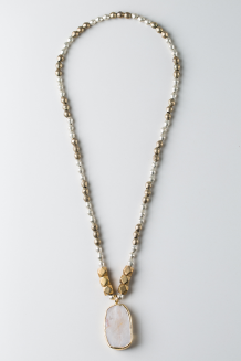 Kisanii Necklace - Silver & Gold - Silver & Gold