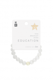Imani Bracelet - Education - White