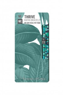 Food Rafiki bracelet - thrive