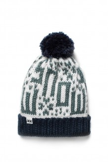 Krochet Kids Kid's Hat - the Snow Daze - navy (4-8 years)