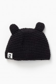 Krochet Kids Kid's Hat - the Teddy - black bear (1-2 years)