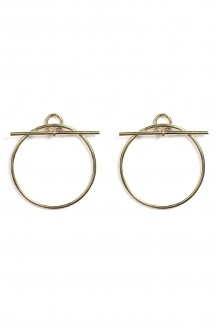 Toggle & Bar Earring