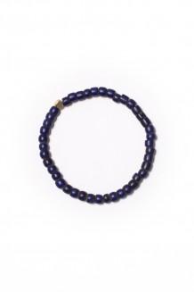 Turkana single strand bracelet - blue