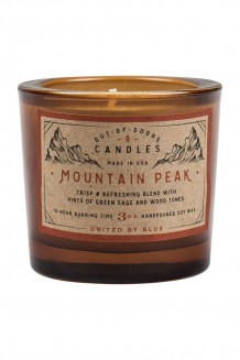 United by Blue – 3 oz Out-of-Doors Candle - Mountain Peak