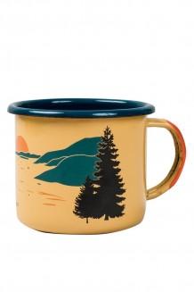 United by Blue – Inlet enamel steel mug – yellow