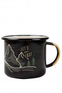 United by Blue – Let's get lost enamel steel mug