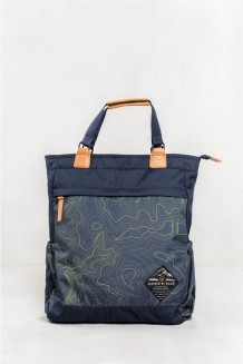 United by Blue – Topography Summit Convertible Tote Pack - navy/olive