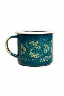 United By Blue - Upstream enamel mug