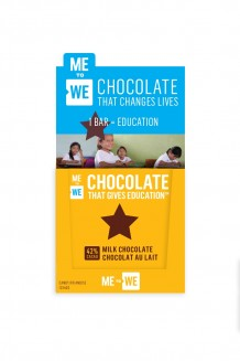 ME to WE Chocolate That Gives Education™ – Milk Chocolate 12-Pack