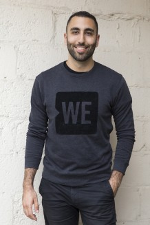 WE Crewneck Sweatshirt - Black