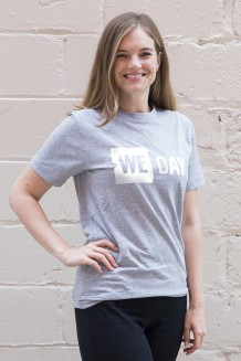 WE Day T-Shirt - Heather Gray