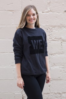 WE Crewneck Sweatshirt - Black