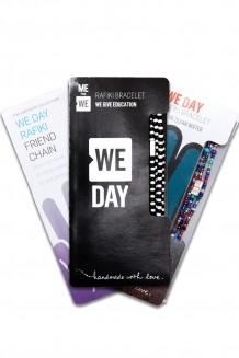 WE Day Vintage Rafiki Bundle