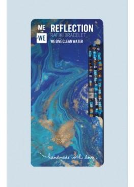 Water Rafiki bracelet - reflection