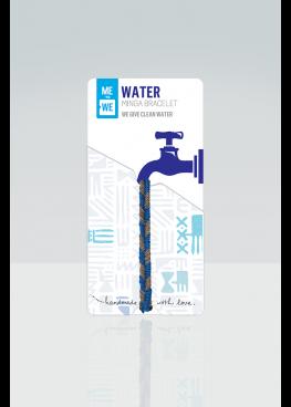 Minga impact bracelet - water